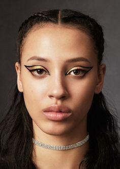 Sahara Lin photographed by Jerome Corpuz for Teen Vogue  Fashion Editor: Coquito Cassibba  Hair: Jordan M for Bumble and Bumble  Makeup: Tatyana Makarova for Pat McGrath Labs
