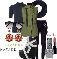 Modern Cosplay: Hatake Kakashi, Naruto Shippuden