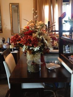 Fall color centerpiece