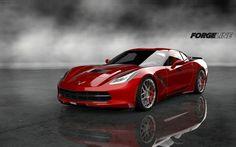 C7 Corvette with Forgeline wheels