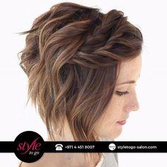 Do you have #short or #fine hair? Book your hair appointment and show off your full-of-volume stylish hair.  هل لديك شعر قصير و خفيف؟ احجزي موعد لشعرك و تمتعي بشعر يبدو مليء و صحّي.   #hair #haircut #trendy #beautysalon #spa #beauty #mydubai #fashionista  #beautiful #fashion #glamour #makeupartist #myUAE #celebrity #highlights #haircolor  #صالون #دبي #جمال #موضة #تسريحه #خبيرةتجميل #مكياج #صبغةشعر #ستايل #فاشون #هايلايت #سشوار