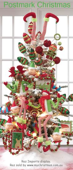 Raz Imports decorated Christmas Tree.  #christmastree #christmastrees #christmasdecor #christmastreetheme #christmastreecolors   #christmasdecorations #deckthehalls #christmasspirit #GeneralChristmas #christmastreeornaments #christmastreetopper #Christmastreedecor #christmastime