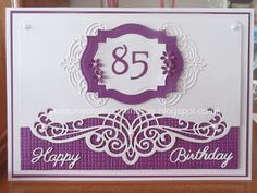 85th Birthday Card