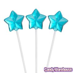 Just found Twinkle Candy Star Lollipops - Blue: 120-Piece Bag @CandyWarehouse, Thanks for the #CandyAssist!