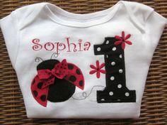 Ladybug Birthday Outfit - Must make for Callie's 2nd Birthday (theme: ladybugs)