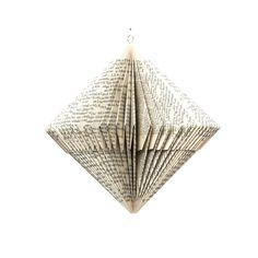 Spinner Folded Paper Ornament