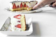 Cheesecake cu mascarpone și căpșuni Kitchenaid, Caramel, Cheesecake, Deserts, Cooking, Food, Recipes, Mascarpone, Train Station