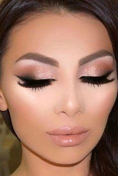 Prom Eye Makeup, Sexy Eye Makeup, Homecoming Makeup, Eye Makeup Tips, Gorgeous Makeup, Makeup Ideas, Homecoming Ideas, Makeup Tutorials, Makeup Hacks