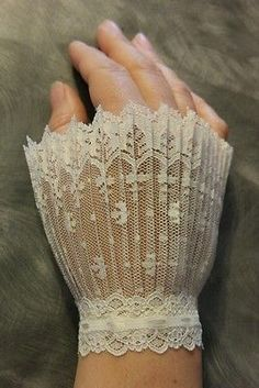 Lace wrist cuffs larp vintage victorian steampunk renaissance gothic burlesque  us on Facebook @ https://m.facebook.com/NemesiasCreations/ Where you can also request custom orders