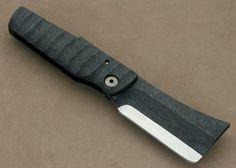 Нож Mick Strider Custom Knife Titanium Laminated Carbon Fiber Friction Folder : Knife-Эстетик Интернет- магазин ножей