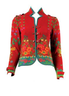.What a lovely Bunad jacket... I wonder where it's from