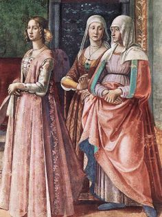 Domenico Ghirlandaio (Italian artist, 1449–1494) Detail from Birth of St John the Baptist
