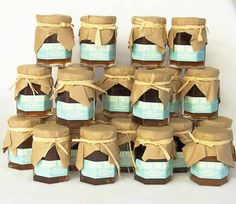 My mother and I will be making her famous homemade jams and jellies as gifts for the guests in personalised jam jars