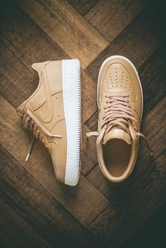 Nike Air Force 1 'Tan' (via pangeaproductions) Mais