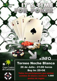 TORNEO DE POKER NOCHE BLANCA