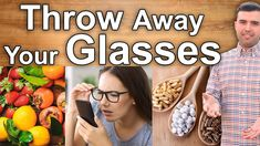 Learn how to get your sight back and stop wearing glasses forever! Reverse vision loss and throw your glasses away. In this video I reveal the best home reme. Ayurvedic Remedies, Eye Sight Improvement, Vision Eye, Natural Cures, Home Remedies, Improve Yourself, The Cure, Health And Beauty, Vitamins