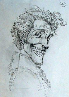 The Joker Sketch - Brian Bolland