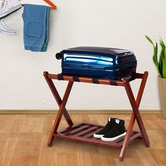 Luggage Racks For Guest Rooms Welcome Your Guests With This Hotel Style Luggage Rackmade Of