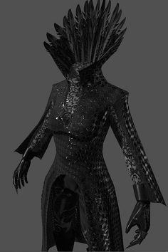 Ravenna's armour, with the wooden plague mask I am about to also pin, and braids, and let's do this....