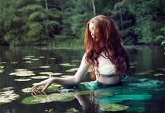 Helena- the sorrowful Naiad Model: Mara Jade Jewelry, Styling, Photo: Natalia Le Fay