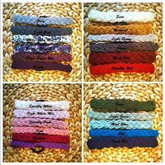 Women Cable Hair Band Various Colors Knit by HandicraftByDamla