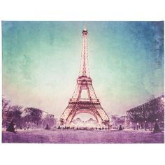 Graham & Brown Paris At Dusk Printed Canvas (€34) ❤ liked on Polyvore featuring home, home decor, wall art, tree wall art, paris home decor, parisian home decor, framed wall art and graham & brown