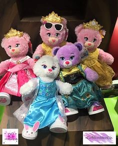 Build A Bear Workshop | Disney Princess' Be Amazing | Toy Kingdom | Moms Of Girls Meet Up | #girlsmomsmeetup |