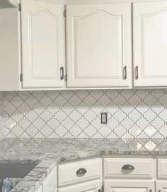 57 Best Arabesque Tile Backsplash Images In 2018 Arabesque Tile