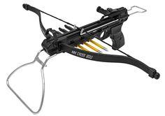 "80 lb Pistol Crossbows 3 Aluminum Arrows Auto Safety Adjust Sight 160 FPS 13"" #MKCRSBW2"