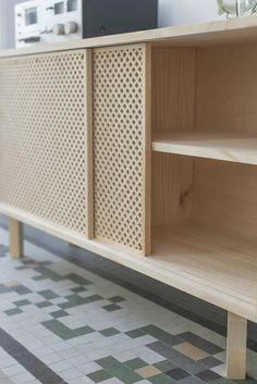 plywood furniture TV Plus Furniture Tv Cabinets, Storage Cabinets, Lp Storage, Record Storage, Furniture Care, Furniture Design, Plywood Furniture, Furniture Stencil, Furniture Plans