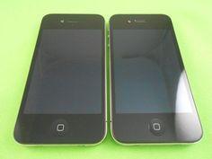 Lot 2 Apple iPhone 4S-8GB- FOR Verizon & GSM Factory Unlocked Good Black | eBay