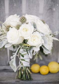 Intimate lemon orchard wedding | Photo by  Arna Bee | Flowers by Juniper Floral Designs | Read more  -  http://www.100layercake.com/blog/?p=66658