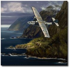 AVIATION ART HANGAR - Dumbo by Jack Fellows (PBY Catalina)
