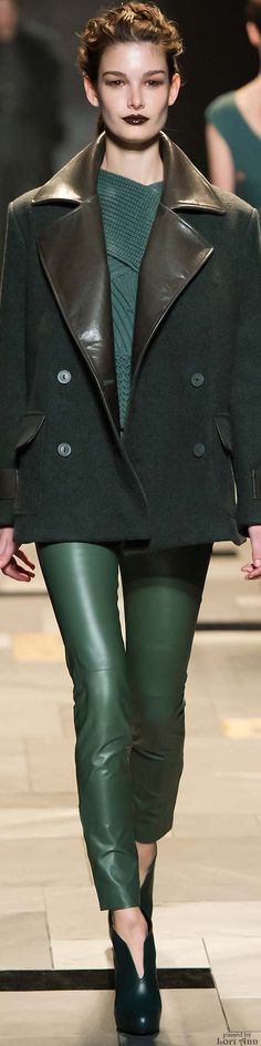 Trussardi Fall 2015 RTW; Oh my goodness, drool-worthy this is!