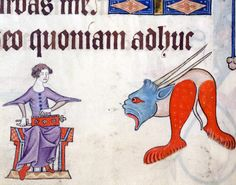 Luttrell Psalter, England ca. 1325-1340  British Library, Add 42130, fol. 81v