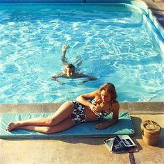 Vintage Summer: Poolside in Laguna Beach, by Slim Aarons