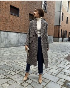 Fall Fashion Trends You Need Right Now 10 Fall Fashion Trends You Need Right Now - Fall fashion trends 2018 - with fall outfit ideas including neutrals, leopard print and tailoring. This tweed tailored coat is perfect for the Fall Fashion Trends Yo Simple Fall Outfits, Fall Winter Outfits, Autumn Winter Fashion, Casual Outfits, Winter Style, Winter Wear, Cozy Winter, Christmas Outfits, Casual Winter
