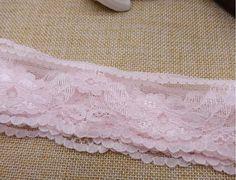 Lace Trim Pink Lace Trim Ribbon Wholesale Lace by bloominglace, $0.59