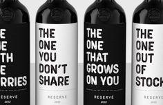 This no nonsense branding kills the pretentious aspect of wine