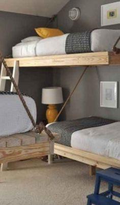 Cool Moderen Kids Bedroom Decorating Ideas