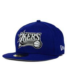 New Era Philadelphia 76ers HWC Back To Basic 59FIFTY Cap Men - Sports Fan  Shop By Lids - Macy s 826a2c6f654