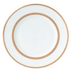 """DINNER PLATE 10.75"""" - VERA WANG LACE GOLD"""