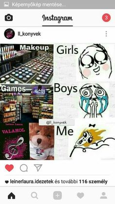 Hát ja.... Ginny Weasley, Girls Makeup, Games For Girls, I Love Books, Hush Hush, Fangirl, Harry Potter, Jokes, Fandoms
