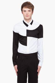 Bi-Color Shirt. Juun.j.