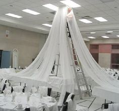 Wedding Ceiling Decor - Draping Kits