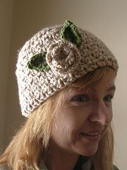 Ravelry: Seed Stitch Share-Me Skull Cap pattern by Lisa Gonzalez