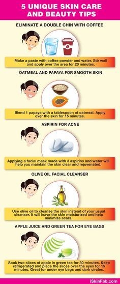 5 beauty tips to boost the skin and get a better, clearer and glowing complexion. #acne #clearskin #glowingskin #beautytips #homemade #cosmetics