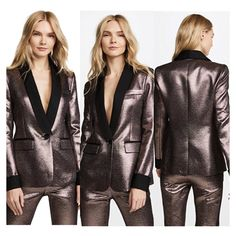 it is possible to look great with its glossy and soft fabric #jacket #fashionstyle #fashion #womenstyle #women