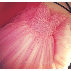 Tulle Prom Dresses,Pink Prom Dress,Modest Prom Gown,Chiffon