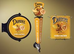 Dundee Tap Handles & Signage